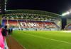 DW Stadium North Stand warmup - Wigan Athletic v Aston Villa, 16 March 2010