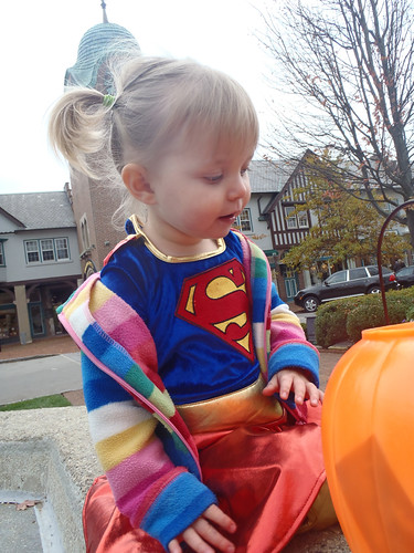 Lilah at Market Square Trick-or-Treating