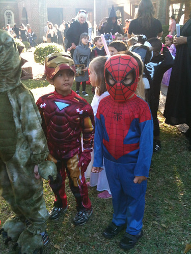 Spidey and iron man