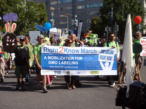 From flickr.com: Right 2Know March (GMO Labeling) {MID-203592}
