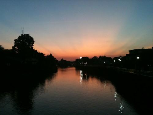 Tramonto in Lampang