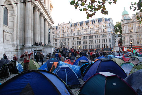 St Paul's protest camp by simonjenkins' photos