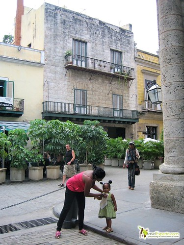 Local Mama and Child - Havana Vieja, Cuba