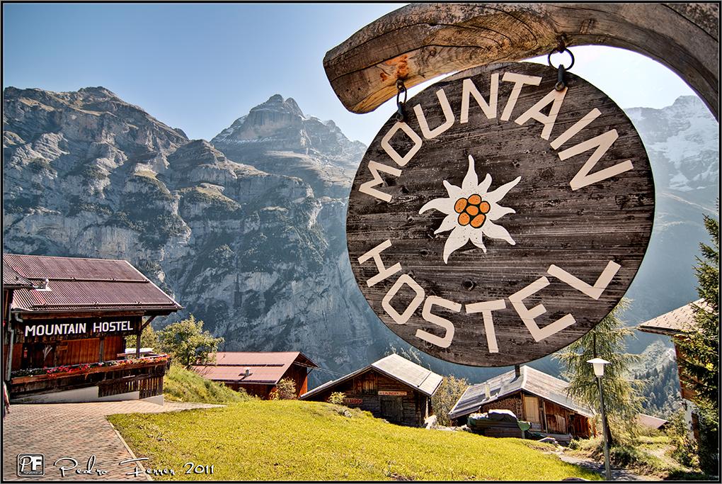 Suiza - Pueblos con encanto - Gimmelwald - Mountain hostel