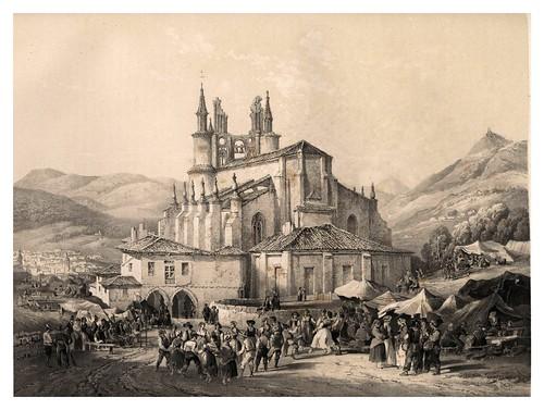 028-Un Aurrescu en Bilbao-España artística y monumental..Tomo III- 1842-1850-Genaro Perez de Villa-Amil