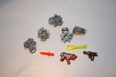 lego protos and old ba protos for trade (kenneth nielsen a.k.a Qenhyt) Tags: old for lego swirl ba trade protos brickarms