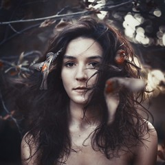 laissez faire. (robby.cavanaugh) Tags: portrait bird beautiful birds vintage hair real photo pretty photographer robby robbycavanaugh
