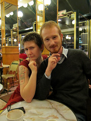 Erika Moen and Me... (Mr-Pan) Tags: comics flickr meeting rencontre erikamoen mrpan