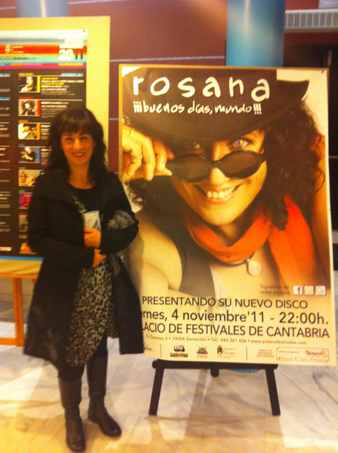 Marga with Rosana Poster