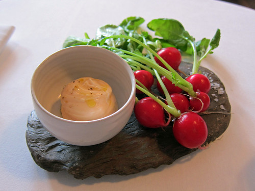 Radishes and Cod Roe Dip