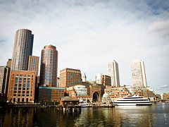 Boston Harbour (goodbyetrouble) Tags: boston skyline harbour massachusetts hafen