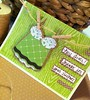 Thanks for your support! (krista_k33) Tags: green scrapbooking cards handmade cricut cricutexpression
