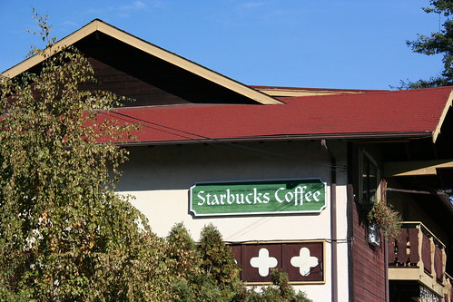 Leavenworth Starbucks