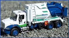 ChemWaste Vacum Tanker (timstoys1) Tags: first gear freightliner firstgear diecastmodel granitestatecollectibles chemwaste