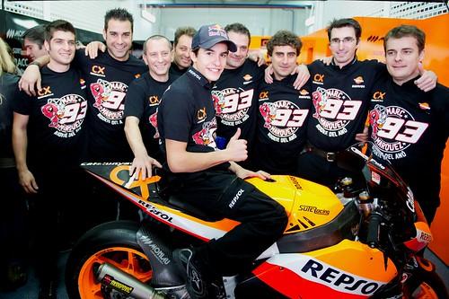 Marquez and Team