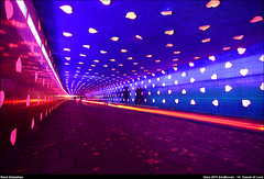 Glow Eindhoven 2011 - 14. Tunnel of Love (renesebastian) Tags: light art love architecture glow forum tunnel eindhoven international hart fiets harts hartjes harten tunneloflove lovetunnel fietstunnel vollaerszwart gloweindhoven internationalforumoflightinartandarchitecture glowinternationalforumoflightinartandarchitecture