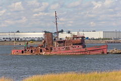 Staten Island Boat Graveyard (jeffs4653) Tags: usa newyork abandoned graveyard rust ship unitedstates sunken statenisland rossville arthurkill statenislandboatgraveyard