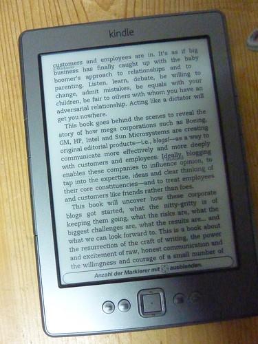 Ebook lesen mit dem Kindle