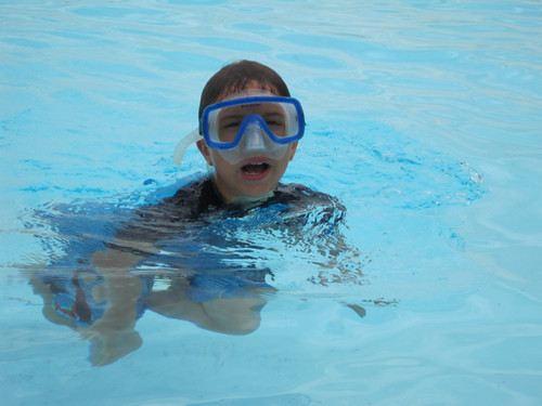 JD Boy Swimming