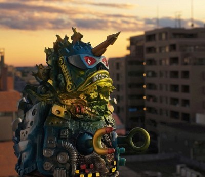 Urban Kaiju Photos by Tatsuru