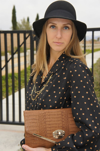 Fall outfit with fedora