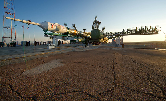 Expedition 29 Soyuz Rollout (201111110013HQ)