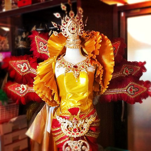  ชุดไทยประยุกต์  #iphoneography #thai #costume #jj