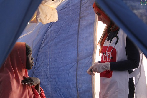 Health monitoring campaign for refugees in Kenya, September 2011