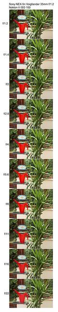 Sony NEX-5n Voigtlander 35mm f/1.2 Nokton II