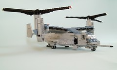 MV-22B Osprey (9) (Mad physicist) Tags: usmc lego military marines osprey v22 tiltrotor mv22b
