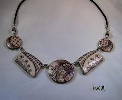 nature3 (Ingul-design) Tags: necklace handmade unique polymerclay fimo kato premo ketten handarbeit unikate ingul