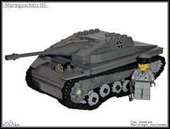 Lego ww2 -Sturmgeschtz III- (=DoNe=) Tags: legoww2stugiii lego ww2 stug iii review world collection update reviews dvd product part shermman tank brickmania rumrunner phima phima333 custom made wwii m4a1 sherman model kits light medium legostug by done