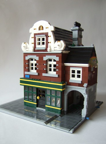 Brick Town Talk November 2011 Lego Town Architecture
