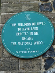 Photo of Green plaque number 6962