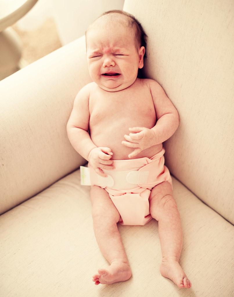 Clara cries
