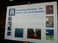 Autonomy's new visual browser app #Aurasma
