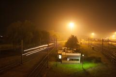 Class66 by Night (Durk Houtsma.) Tags: class66 kijfhoek
