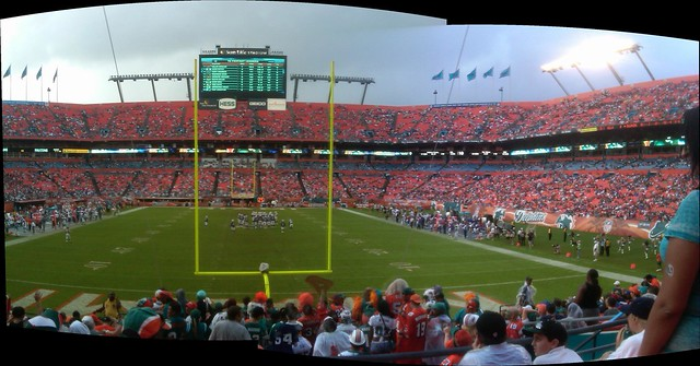 Dolphins vs Bills 11-20-11 Panorama
