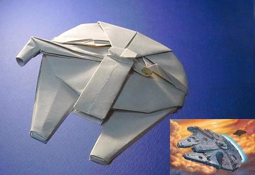 Как сделать звездный корабль из бумаги - Vento-divino.ru
