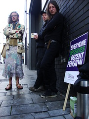 Unison pickets at Brighton Jubilee library (brightondj) Tags: brighton protest strike unions n30 picket unison jubileelibrary tradeunions librariesandlibrarians november30thstrike brightonhoveunison