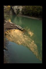 "Reflection in ""gola del Furlo"" (Pesaro) (Lorenzo Canestrari) Tags: reflection view panoramic vista paesaggio goladelfurlo"