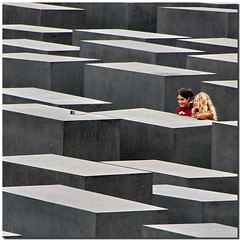 Berliner memory (Nespyxel) Tags: girls selfportrait berlin lines self germany square holocaust foto shot mausoleum memory germania memoria autoscatto mausoleo berlino geometrie linee ragazze ricordo olocausto geometries nespyxel stefanoscarselli