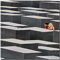 Berliner memory (Nespyxel) Tags: girls selfportrait berlin lines self germany square holocaust foto shot mausoleum memory germania memoria autoscatto mausoleo berlino geometrie linee ragazze ricordo olocausto geometries nespyxel stefanoscarselli
