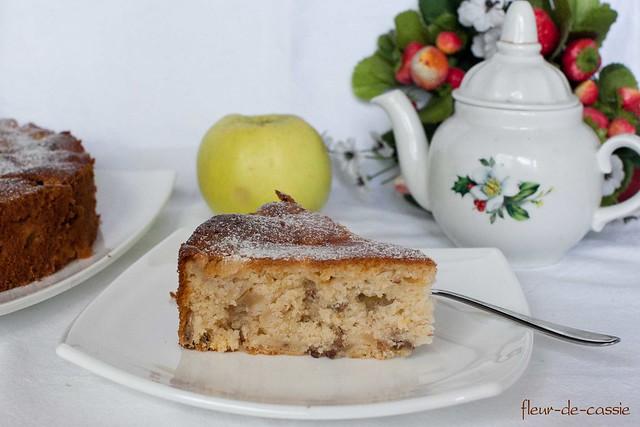 яблочно-медовый кекс 2