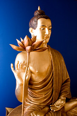 Manchester Buddhist Centre shrine 2