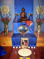 Melbourne Buddhist Centre shrine, Australia