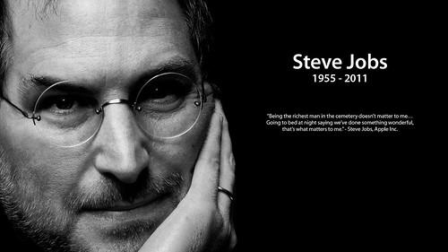 Remembering Steve Jobs Wallpaper by Matt Fairbrass