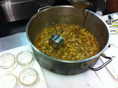 Jam ready for jars