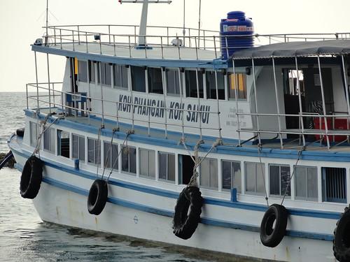 Koh Phangan, Haadrin Queen Ferry