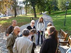 Komentovaná prohlídka parku Špilberk, 23. 9. 2011